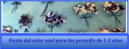 Fiesta del color azul